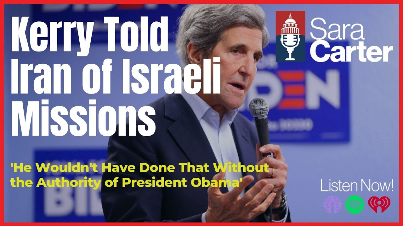 Kerry Sells Out Israel to Iran, did Obama know?
