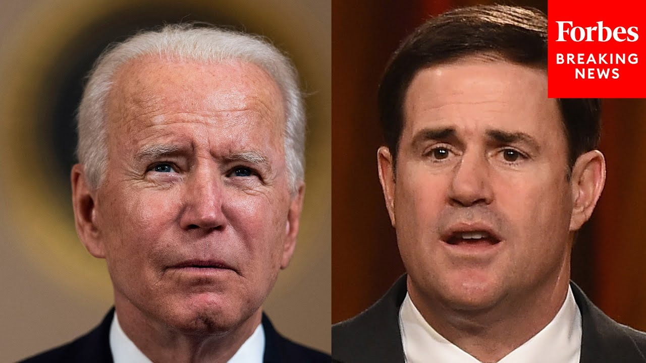 """Arizona Gov. Doug Ducey Declares State Of Emergency Due To """"Crisis"""" At Southern Border, Blames Biden"""