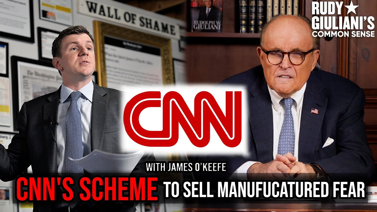 CNN's SCHEME To Sell Manufactured Fear For Profit | Rudy Giuliani and James O'Keefe