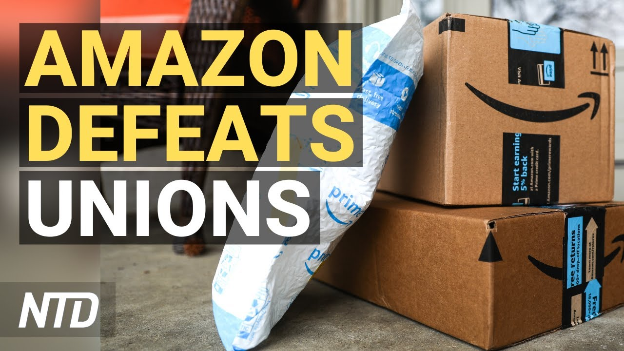 Amazon Workers Vote Against Unionizing; Biden Proposes Social Program Spending Hike