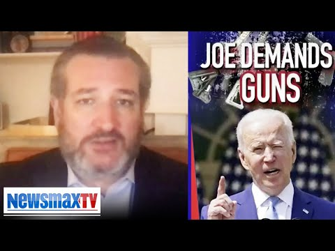Ted Cruz reacts to Biden's 2A restrictions