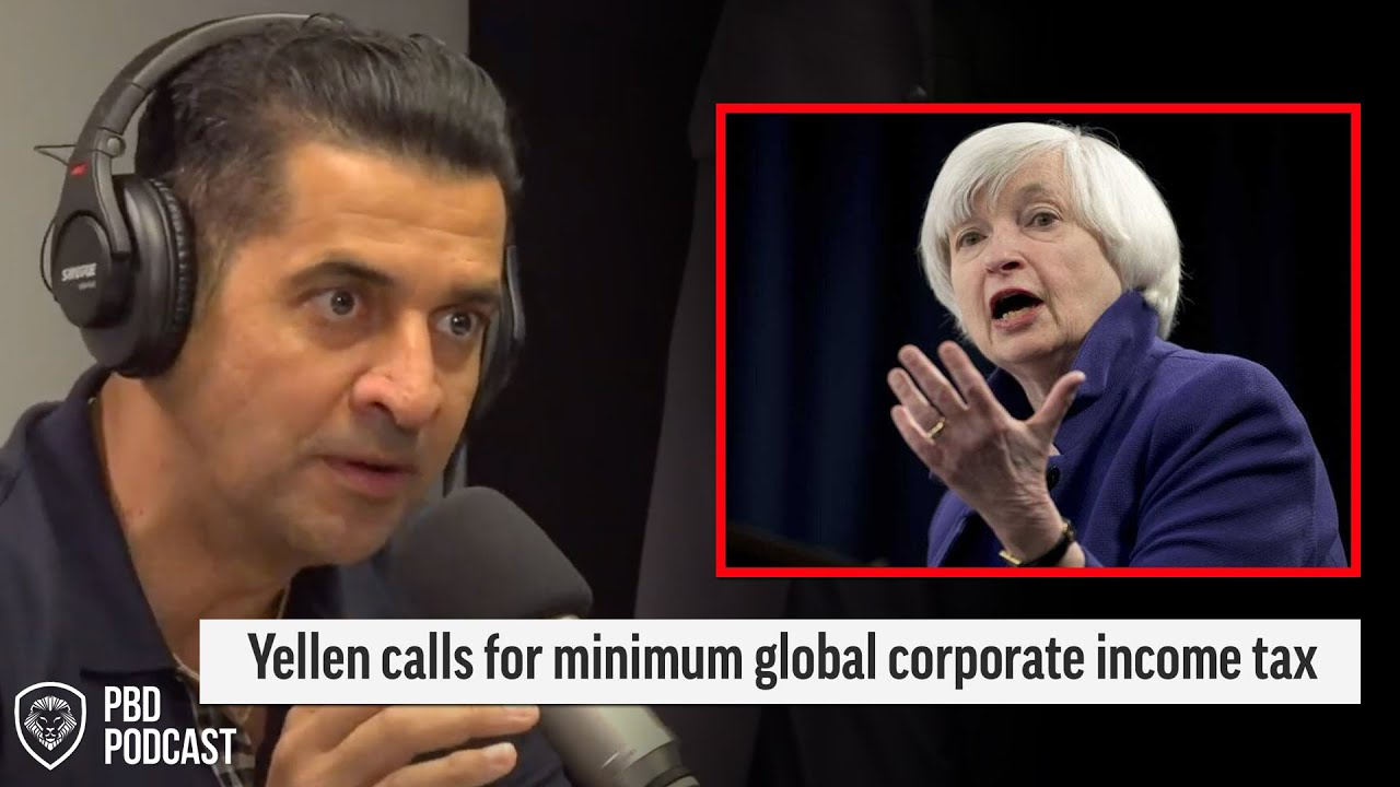 Reaction to Janet Yellen Suggesting Global Minimum Corporate Tax Rate