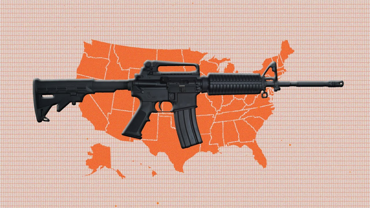 More Than A Dozen States Are Trying To Nullify Federal Gun Control