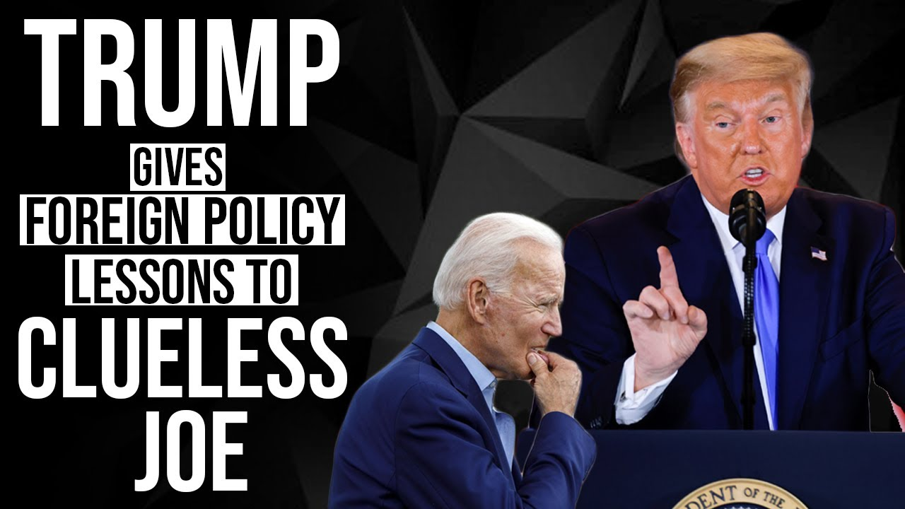 Trump takes on Biden for his Russia policy and asks him to focus on China first