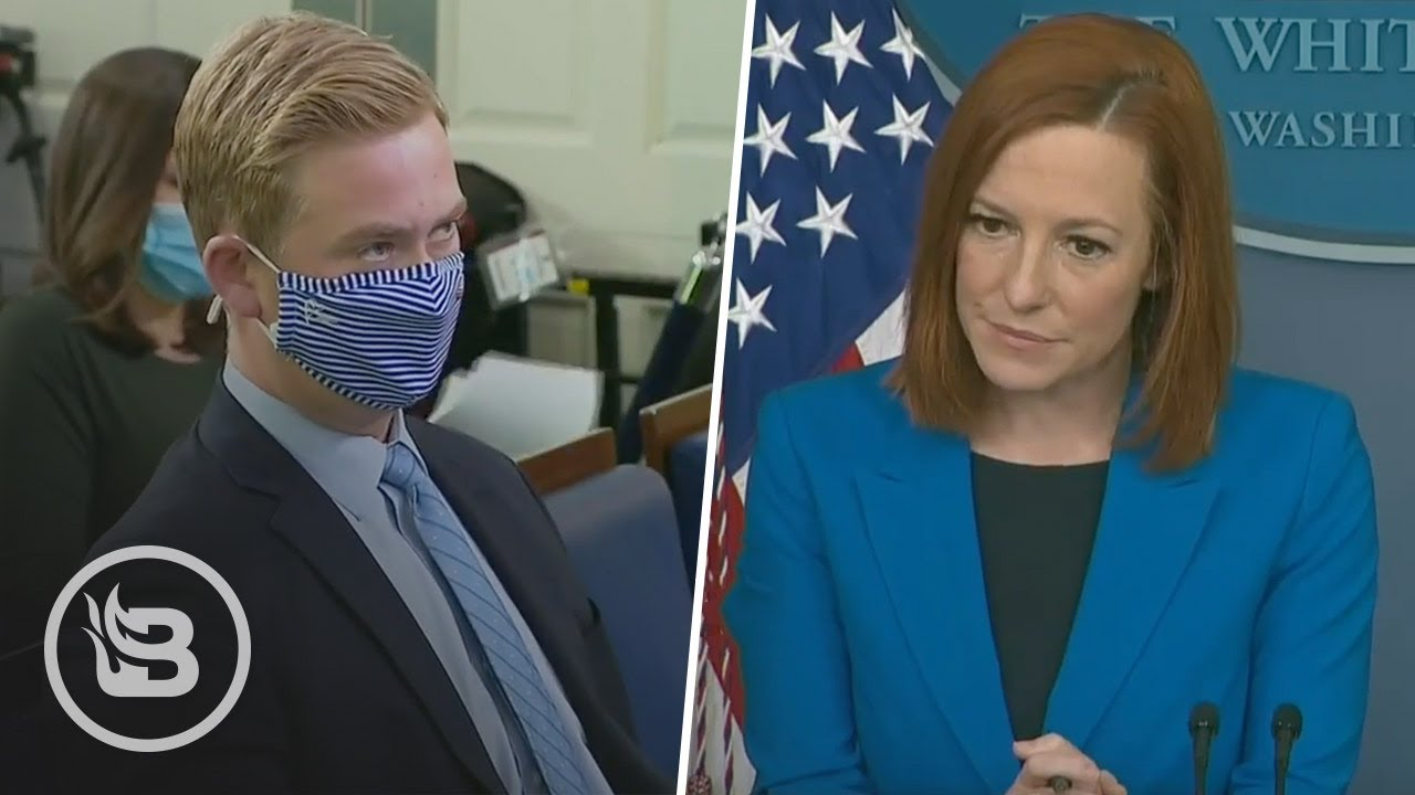 Reporter Confronts Psaki Over Biden Wearing a Mask on ZOOM CALL With World Leaders