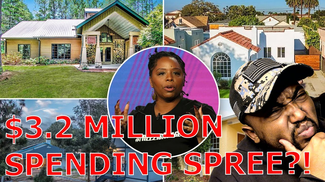 BLM Chapters Calls For Investigation Into Patrisse Cullors As She Owns FOUR Luxury Homes Worth 3.2M!