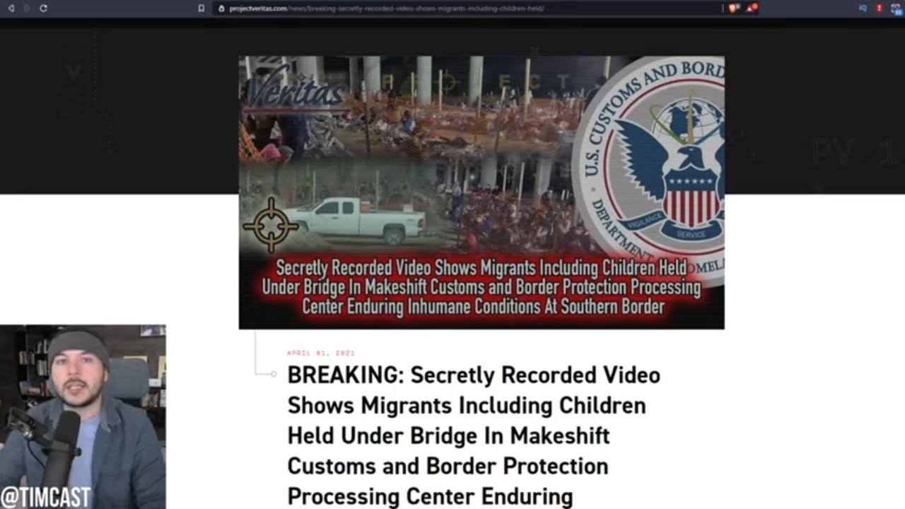 Project Veritas EXPOSES Horrifying Videos Of Migrants Conditions, This Is Biden's Border Crisis