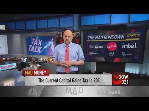 Jim Cramer reacts to reports of Biden's capital gains tax proposal