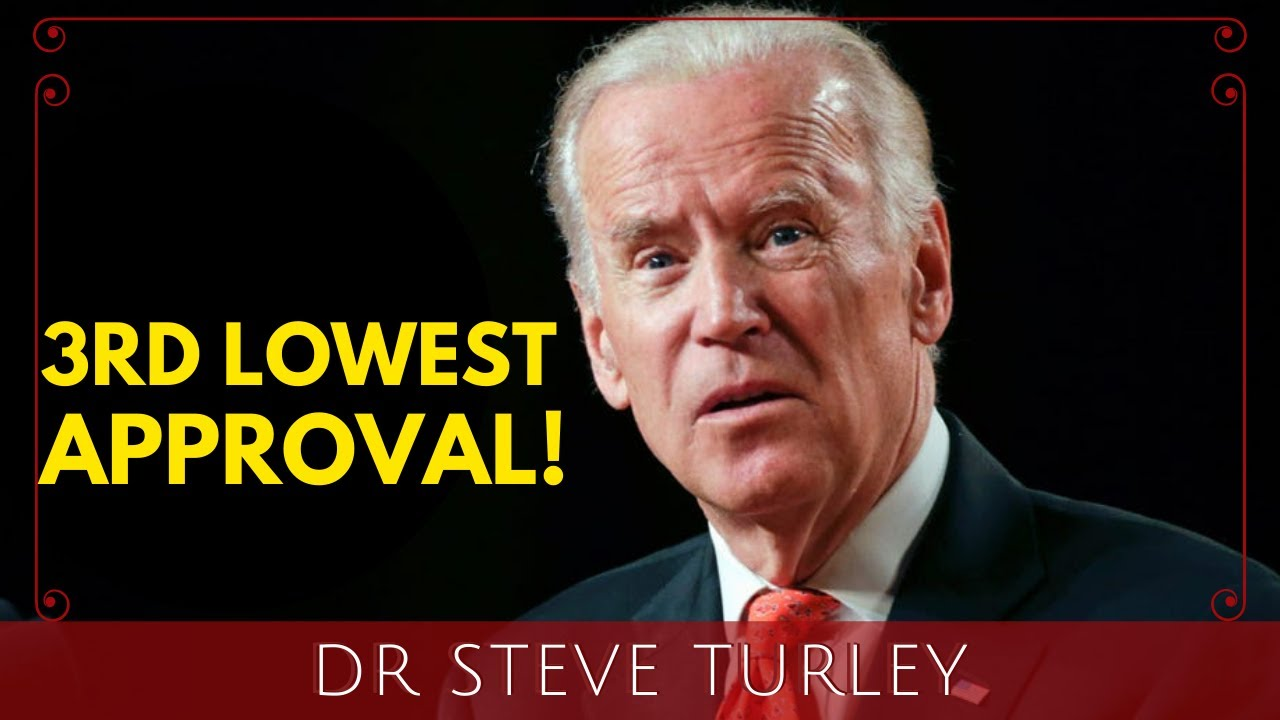 BIDEN COLLAPSING as 100 Day Approval Rating PLUNGES to THIRD LOWEST EVER!!!