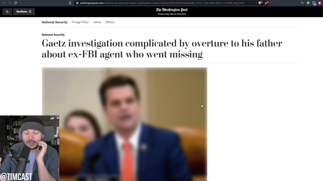 Matt GaetzScandal ERUPTS, Leaked Texts Indicate GOP Rep IS Being Extorted By Ex Federal Prosecutor