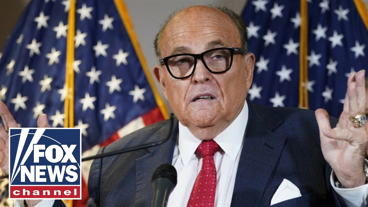 Giuliani did not receive a pardon from Trump
