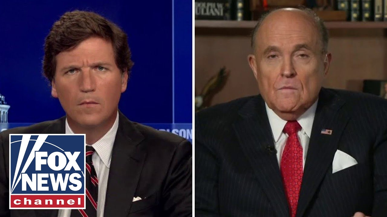 Rudy Giuliani joins Tucker for first TV interview since FBI raid