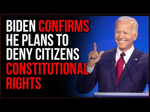 Biden Publicly DENIES Constitutional Rights, His Gun Control Plans Are INSANE
