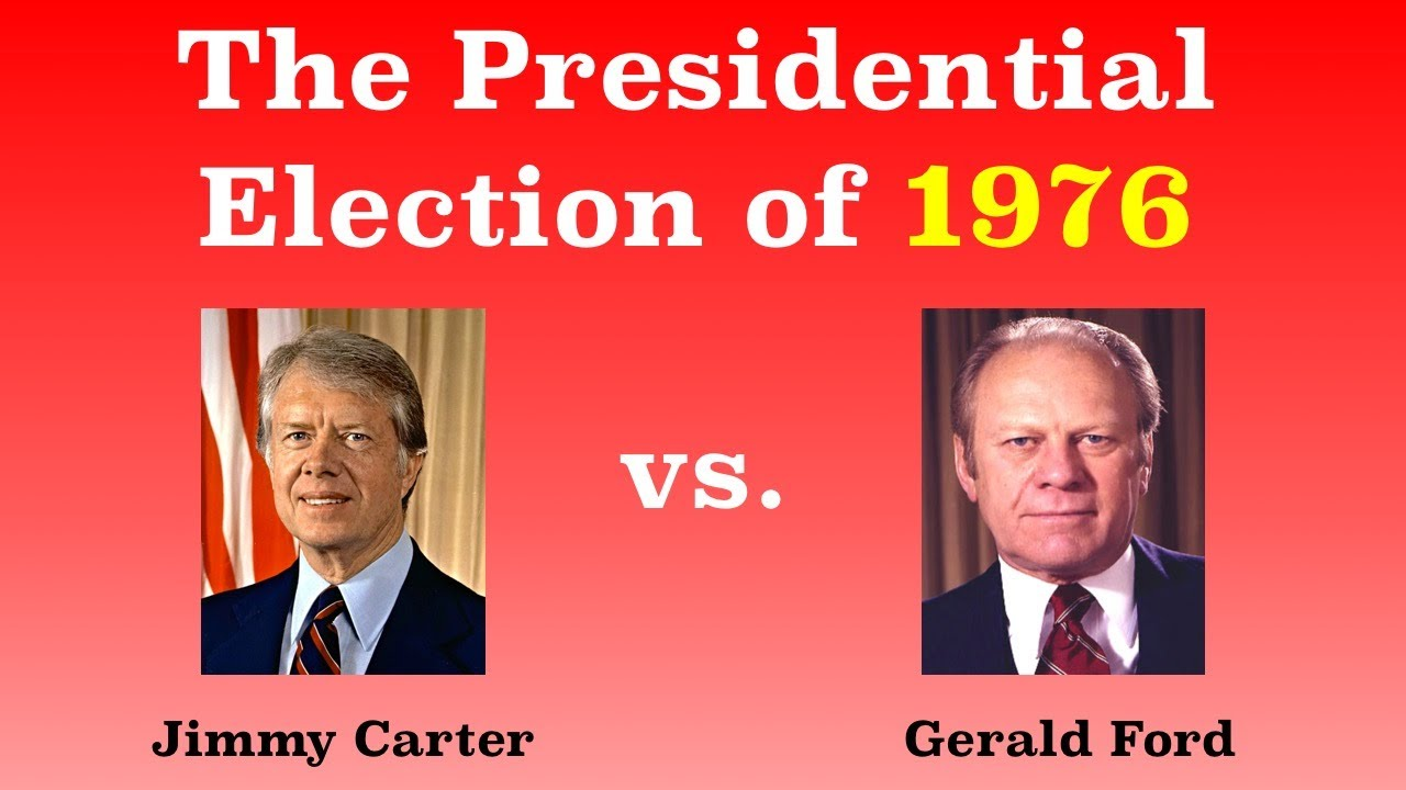 The American Presidential Election of 1976 – Jimmy Carter in case you forgot