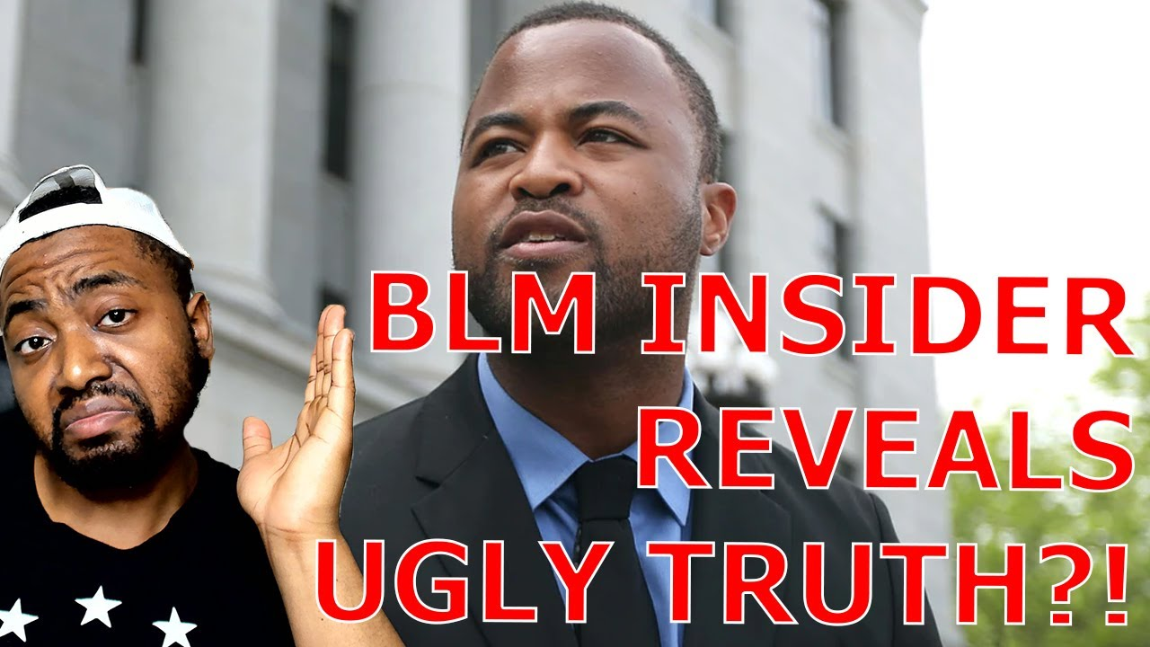 Former Founder of BLM Chapter Reveals The Ugly Truth About The Organization