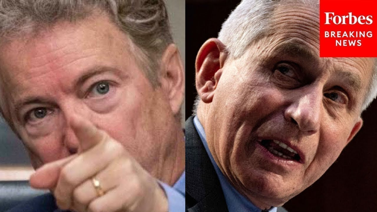 """""""He Was Lying To You"""": Rand Paul Calls Out Dr. Fauci"""