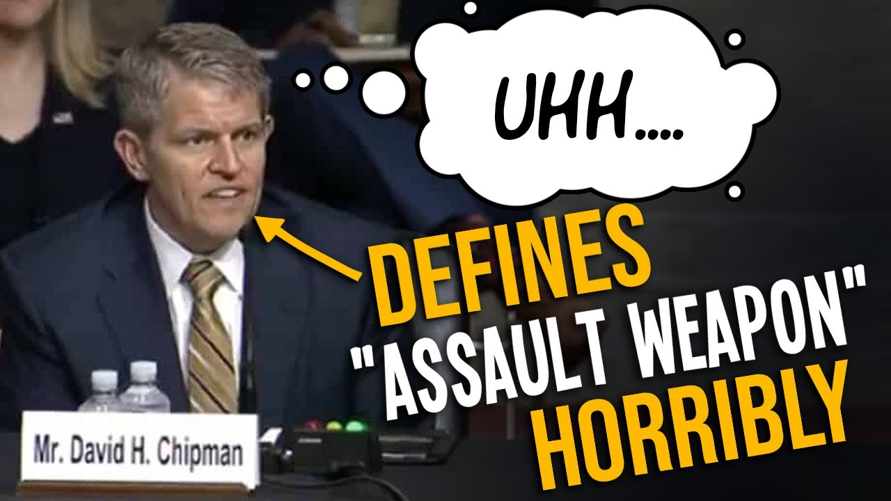 'I support a ban': Biden's ATF nominee BOTCHES 'assault weapon' questioning