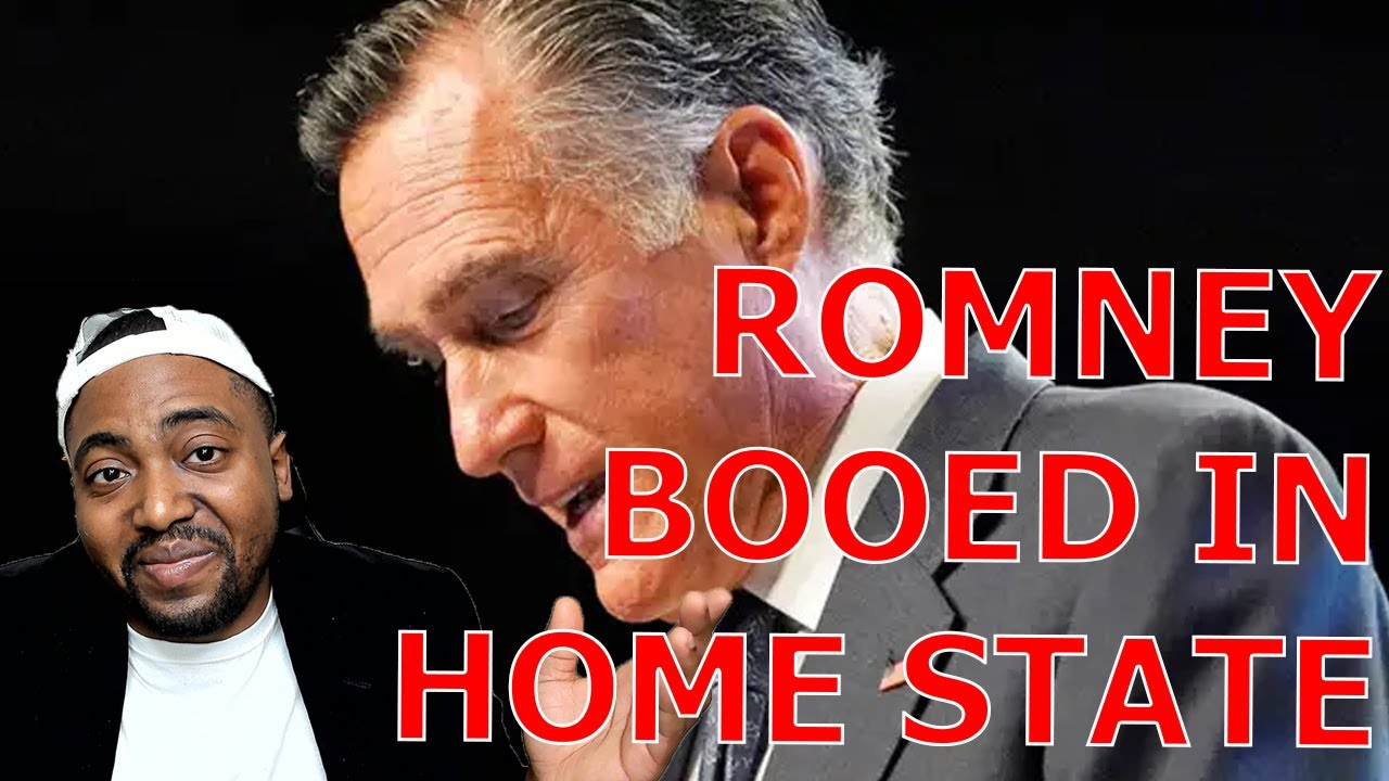 Mitt Romney Almost BOOED OFF STAGE At Utah GOP Convention