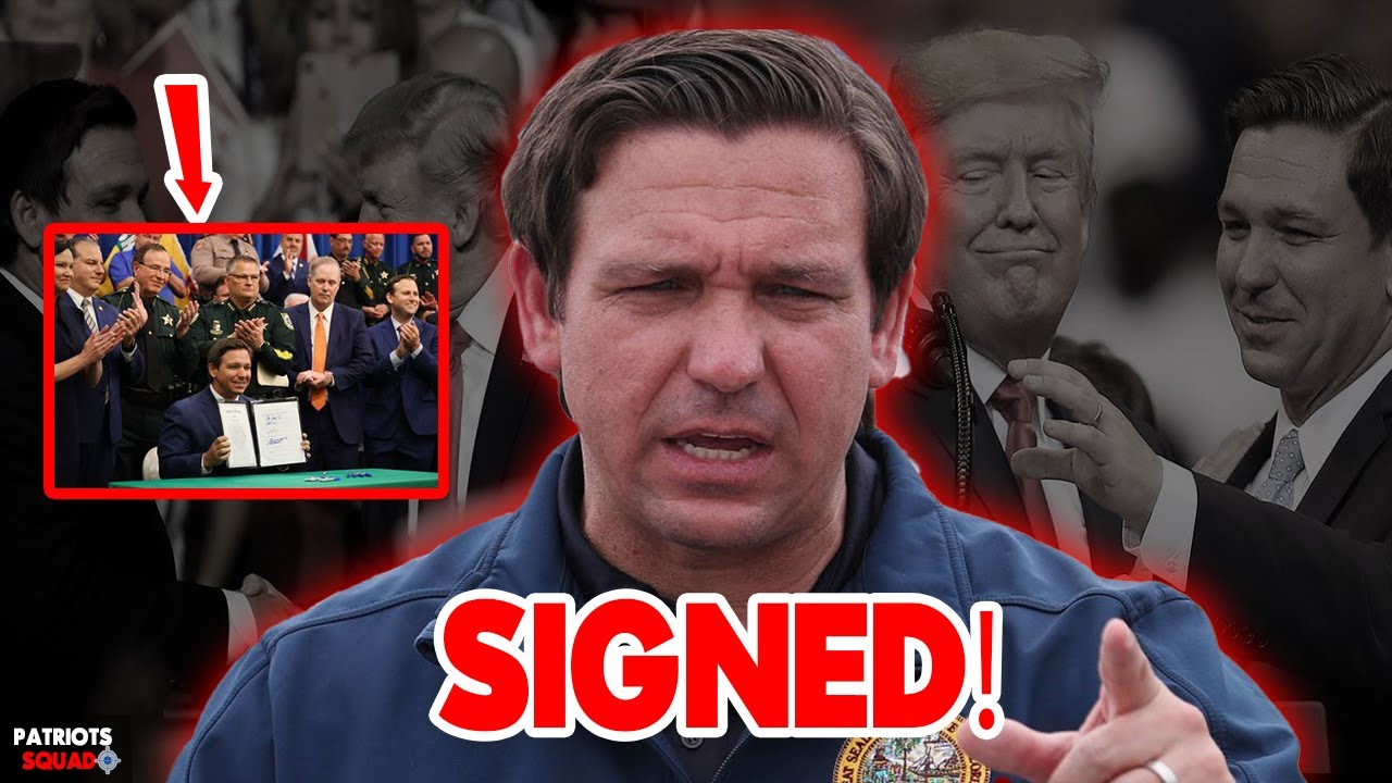 Florida Is Leading! Ron DeSantis SIGNS A Bill that Restrict Mail-in-ballots and Requires Voter IDs