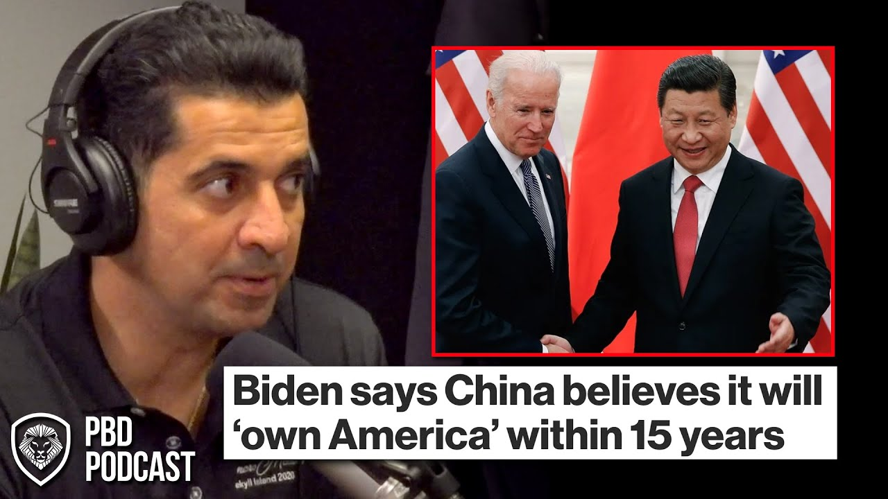 Reaction to Biden Saying 'China Believes it will own America' by 2035
