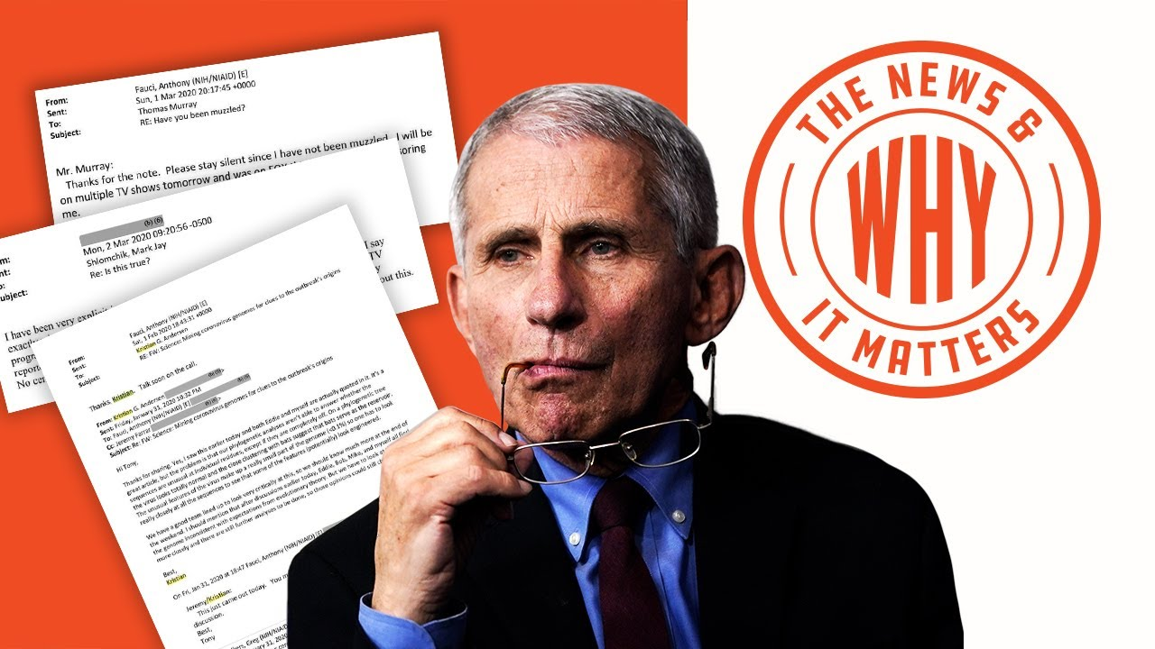 BOMBSHELL: Fauci Emails Dropped, Show Some SHADY Work