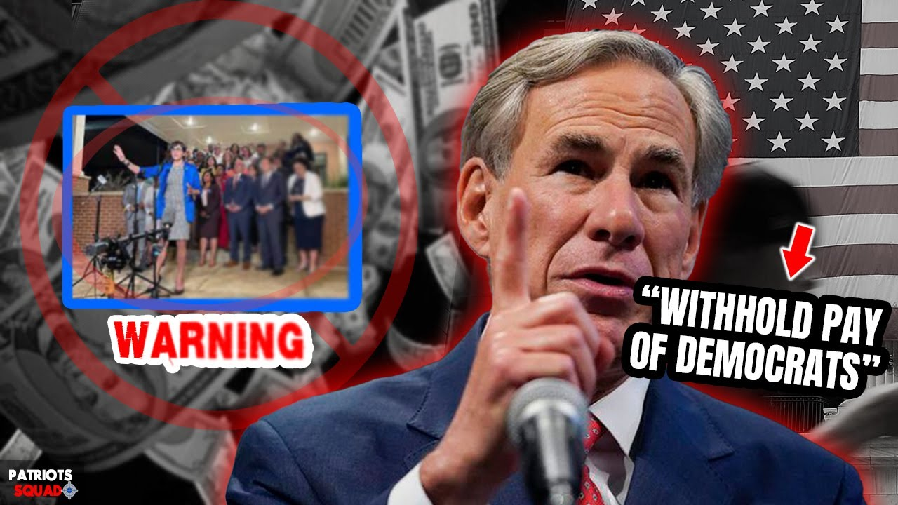 TEXAS GOVERNOR WARNING DEMS WHO RUN AWAY TO TEMPORARILY PREVENT THE VOTE ON THE INTEGRETY BILL