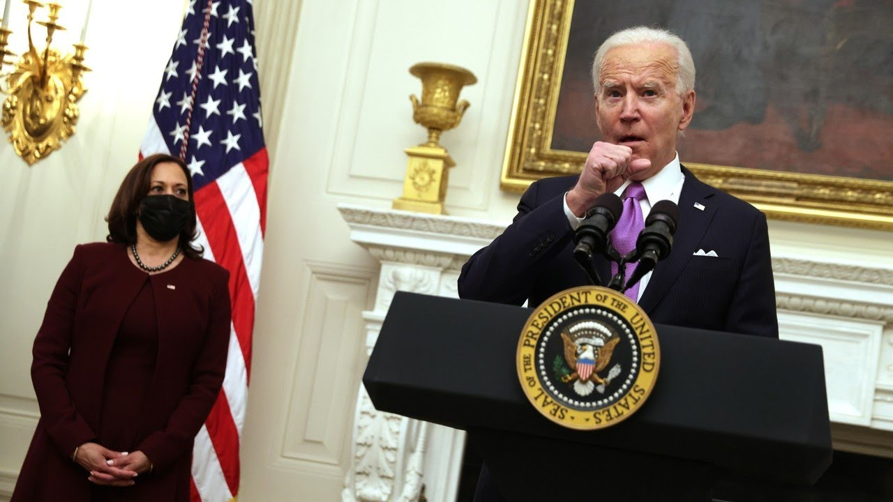 Biden and Harris suffer 'cringeworthy' moments over the weekend