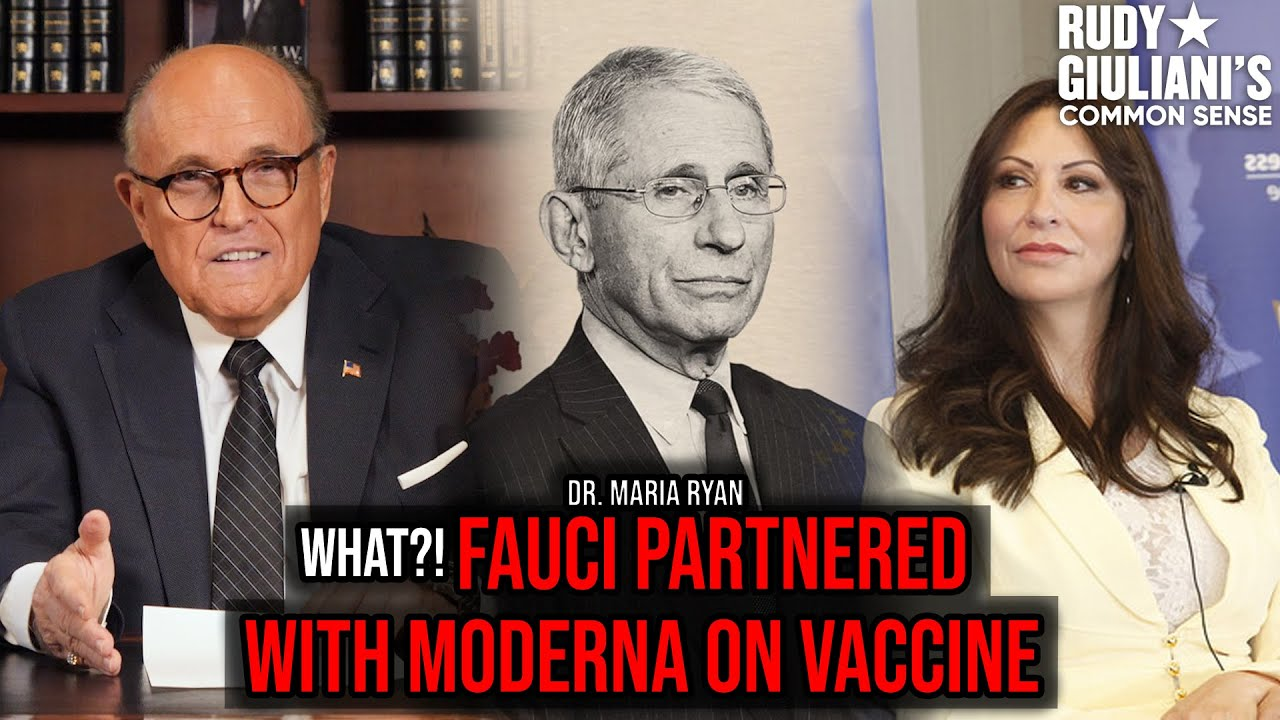 WHAT?! Fauci Partnered With Moderna On Vaccine | Dr. Maria Ryan