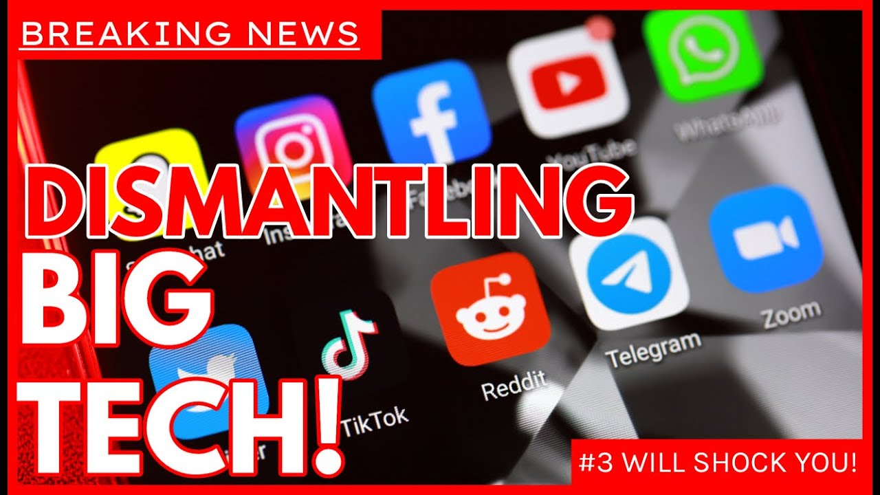 BREAKING: New Bipartisan Bills Unveiled to Dismantle Tech Giants   Number 3 will SHOCK You!