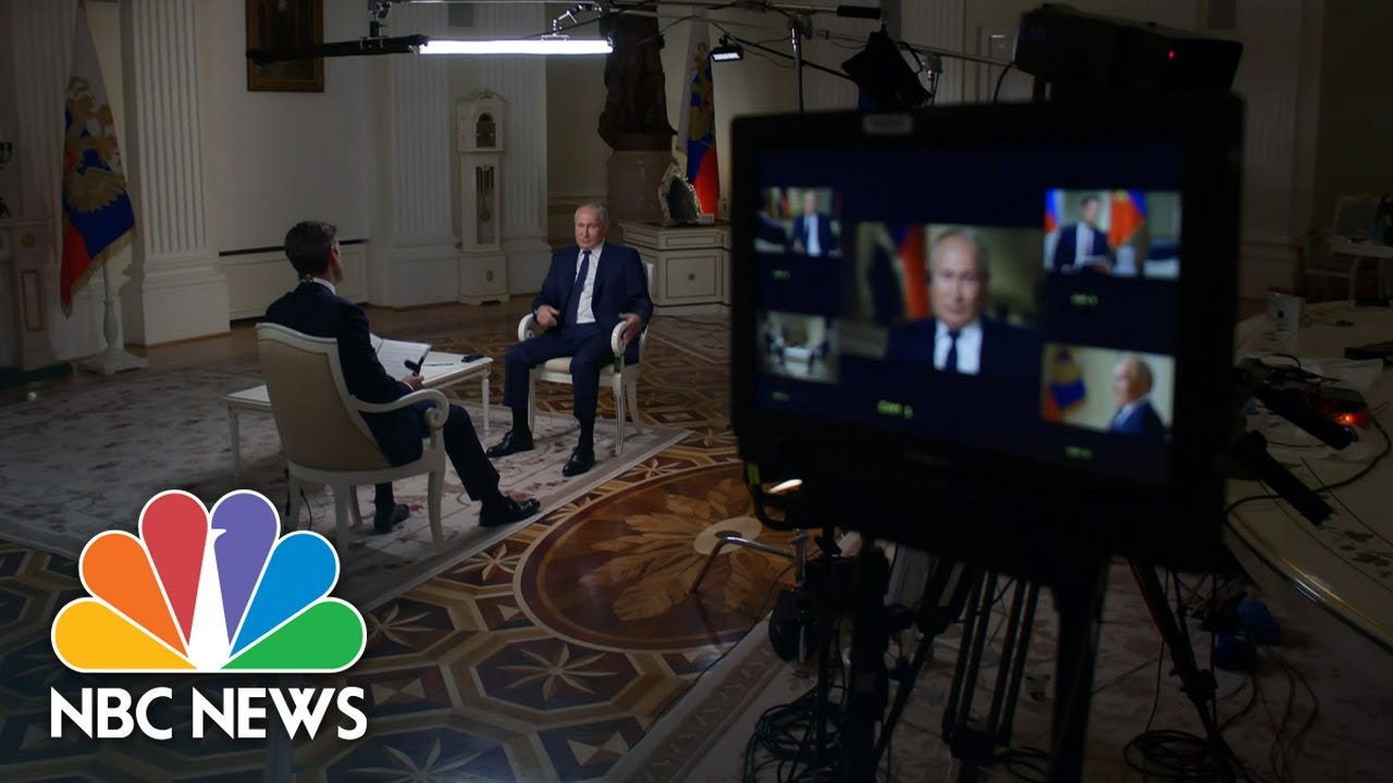 Exclusive Interview With Russian President Vladimir Putin