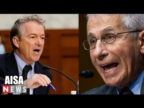 """""""Waste Time With Your Lying"""" Sen. Rand Paul Grills Fauci again & again Till Fauci Can't Answer"""
