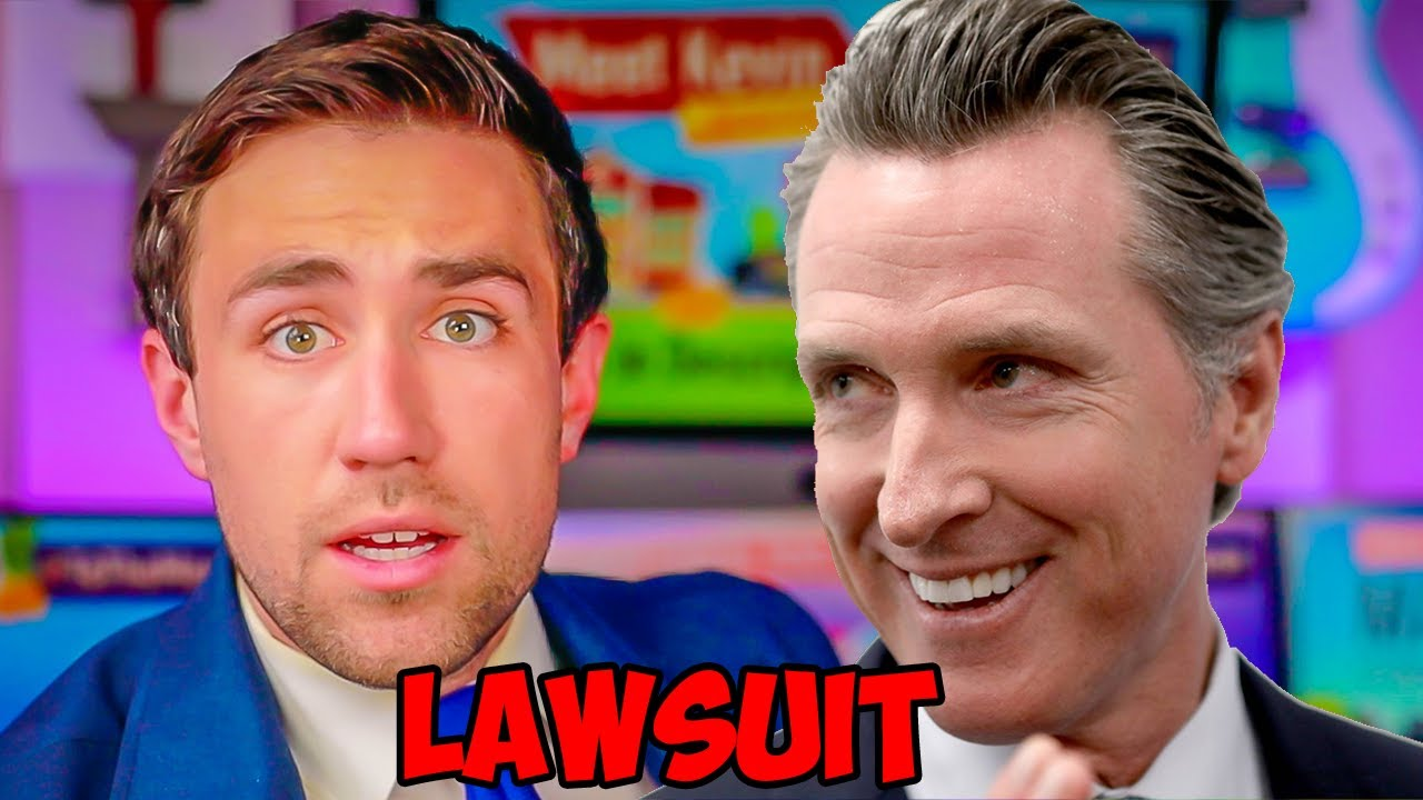 CA Governor SUING!!! Claims My Campaign Against him is UNFAIR!!