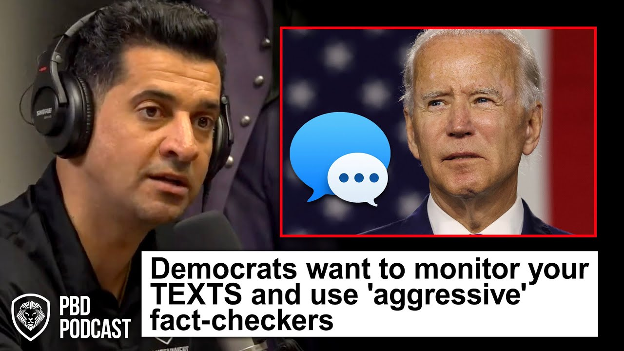 Reactions to Biden Administration Wanting to Monitor Texts & Sending Texts to 'Fight Misinformation'