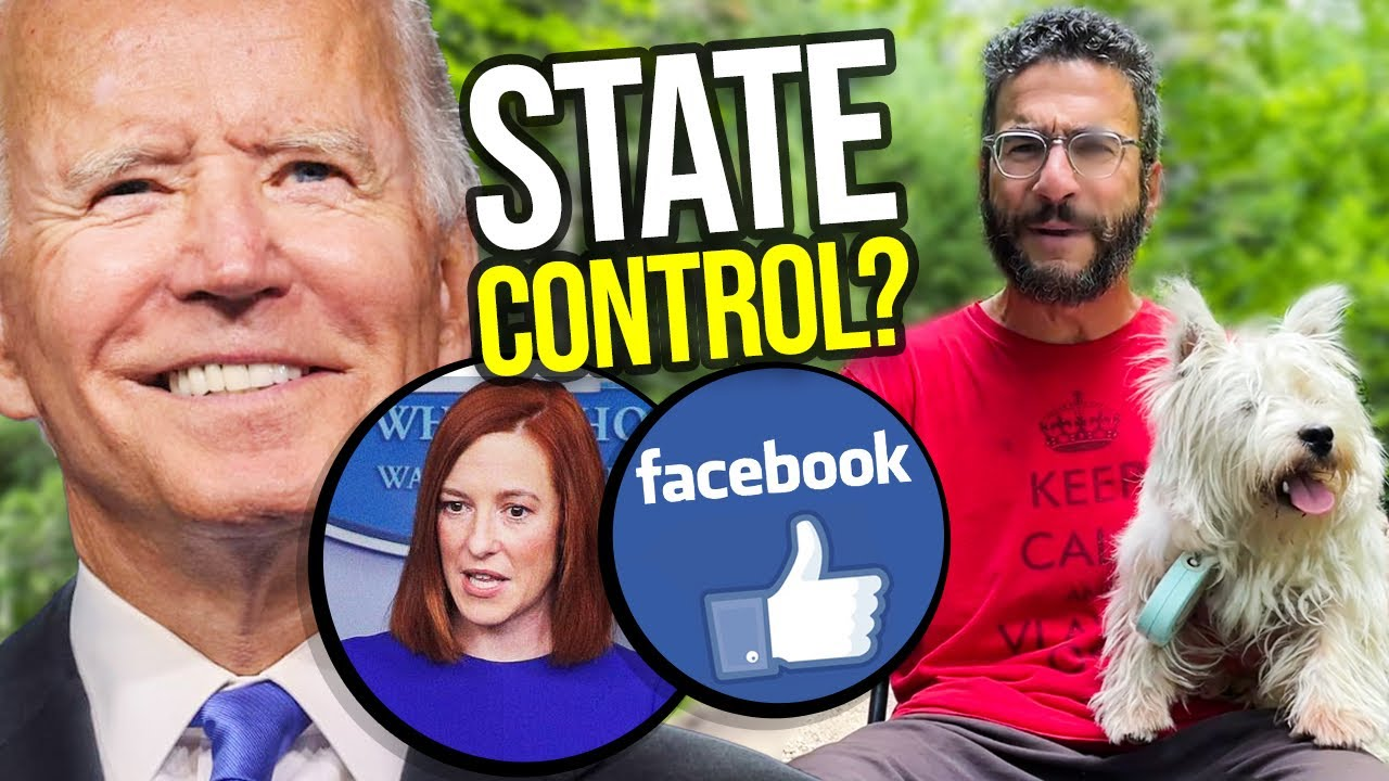 Did Press Sec Psaki ADMIT Facebook is a STATE ACTOR?