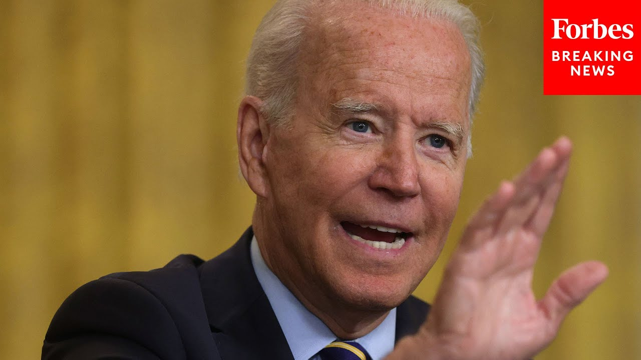 'No! No! No!' Biden Fires Back At Reporter's Question About Afghanistan
