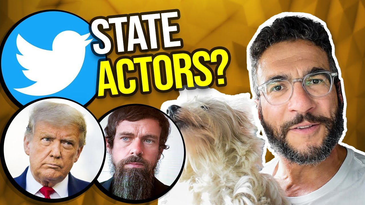 """Is Trump's """"State Actor"""" Twitter Lawsuit a LOSER?"""