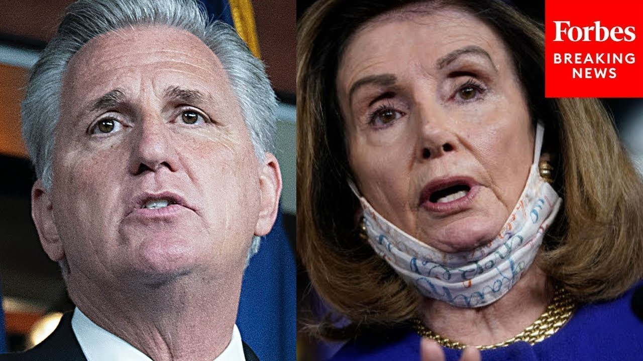 'Madam Speaker, You Don't Know The Facts Or The Science': McCarthy Assails Pelosi For Mask Mandate