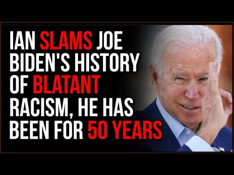 Biden's History Of Racist Remarks, and LONG History Of Horribly Bigoted Statements