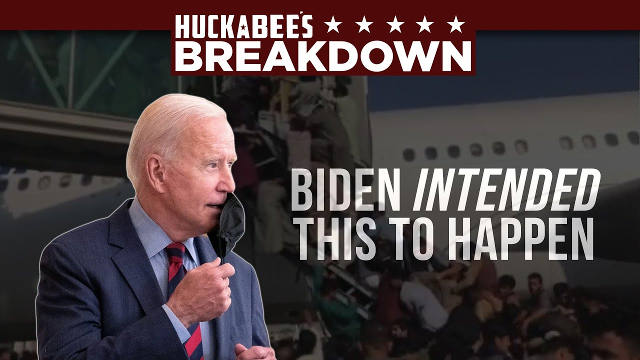 Biden INTENDED for This to Happen in Afghanistan