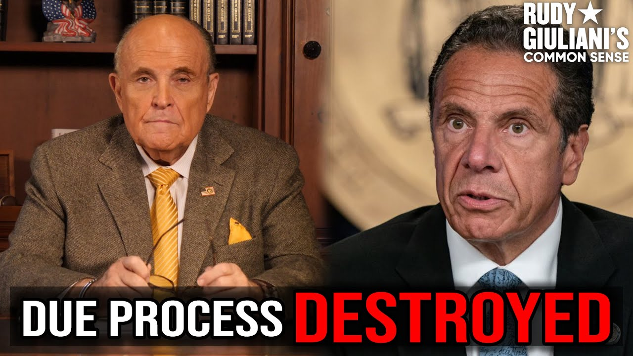 Rudy Giuliani's Response To Sexual Harassment Allegations Against Gov. Andrew Cuomo