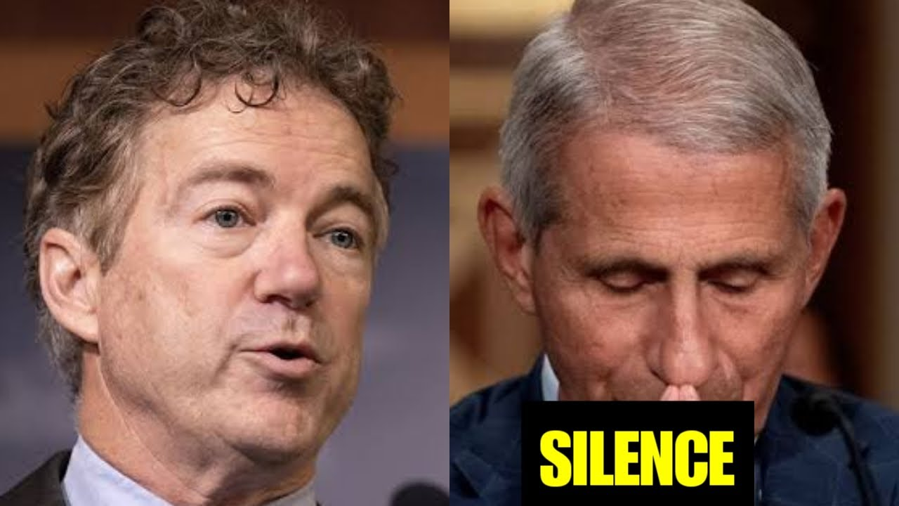 See what Rand Paul Just Said to Dr. Fauci on covid