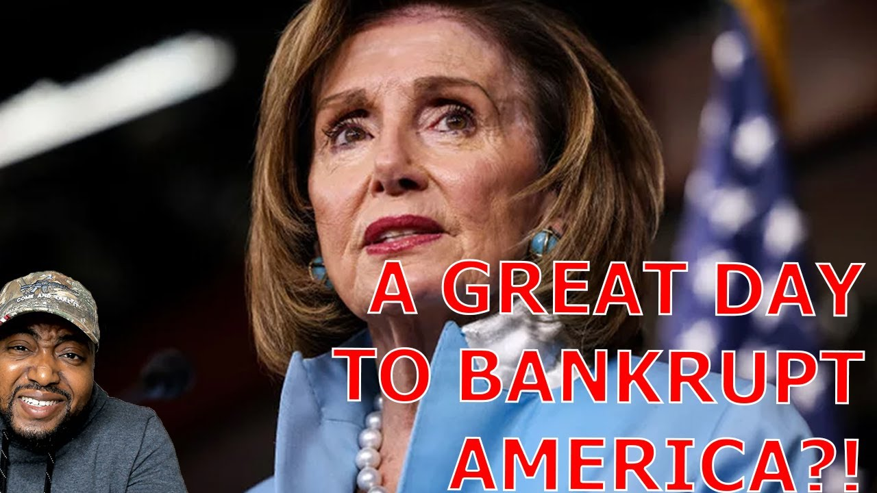 Pelosi Says It's A Great Day For Democrats As Americans Are Stranded But Dems Pass $3.5T Budget Plan