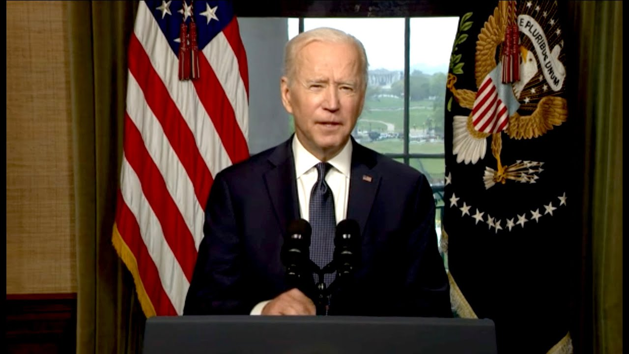 Biden Gives Remarks on Afghanistan After Virtual G7 Meeting
