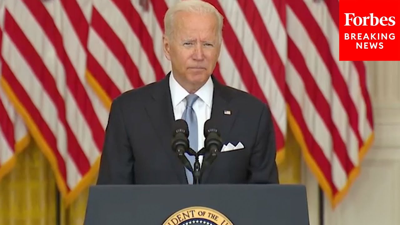 Biden Lays Blame For Taliban Takeover Squarely On Afghanistan Army, Government