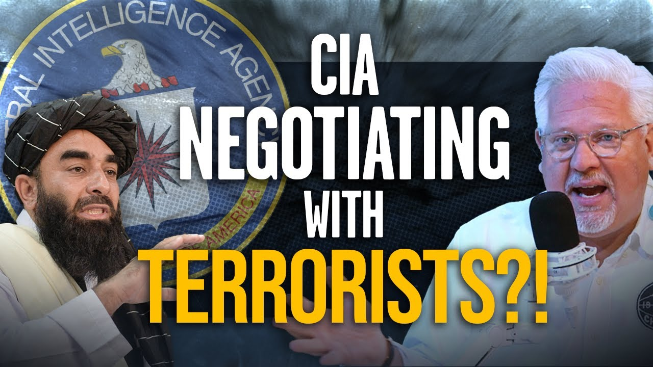 WHY is our CIA director NEGOTIATING with the TALIBAN?!