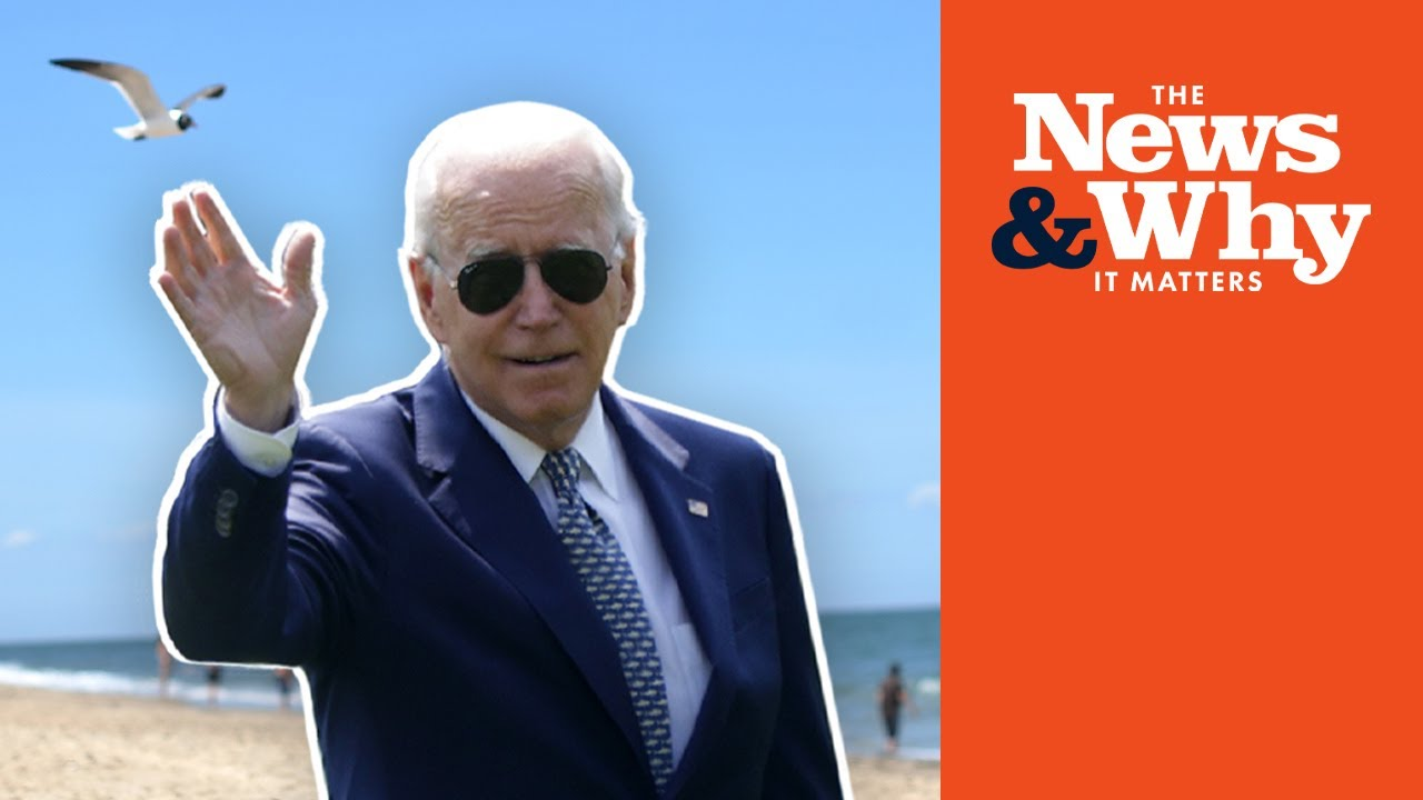 Border Crisis & the Rise of the Taliban Won't Stop ANOTHER Biden Vacation