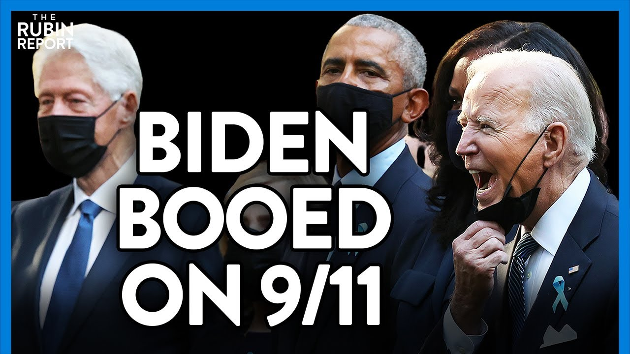Watch Biden Booed As He Approaches the Crowd at 9/11 Memorial