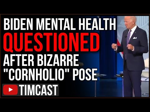 """Biden's Mental Health Questioned After BIZARRE """"Cornholio"""" Pose On CNN Leaves Everyone Confused"""