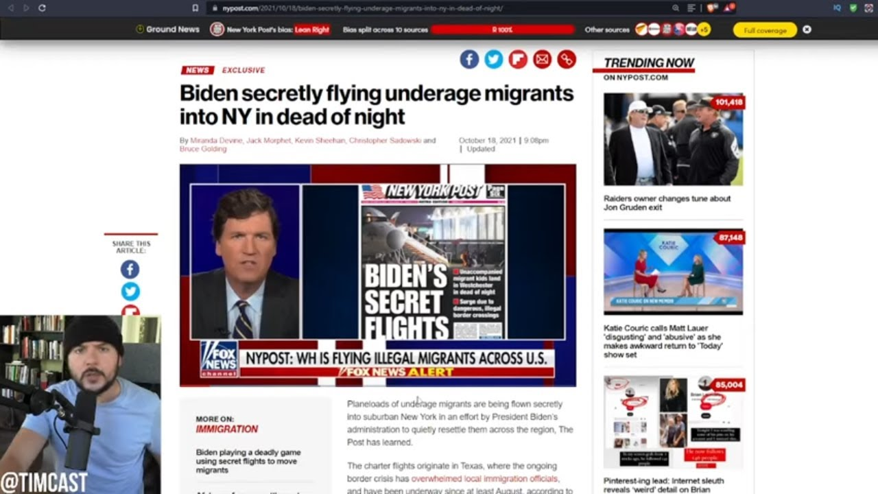 Biden Admin Caught Trafficking Children AGAIN, Police Even Assist, Democrats Are Extracting The U.S.