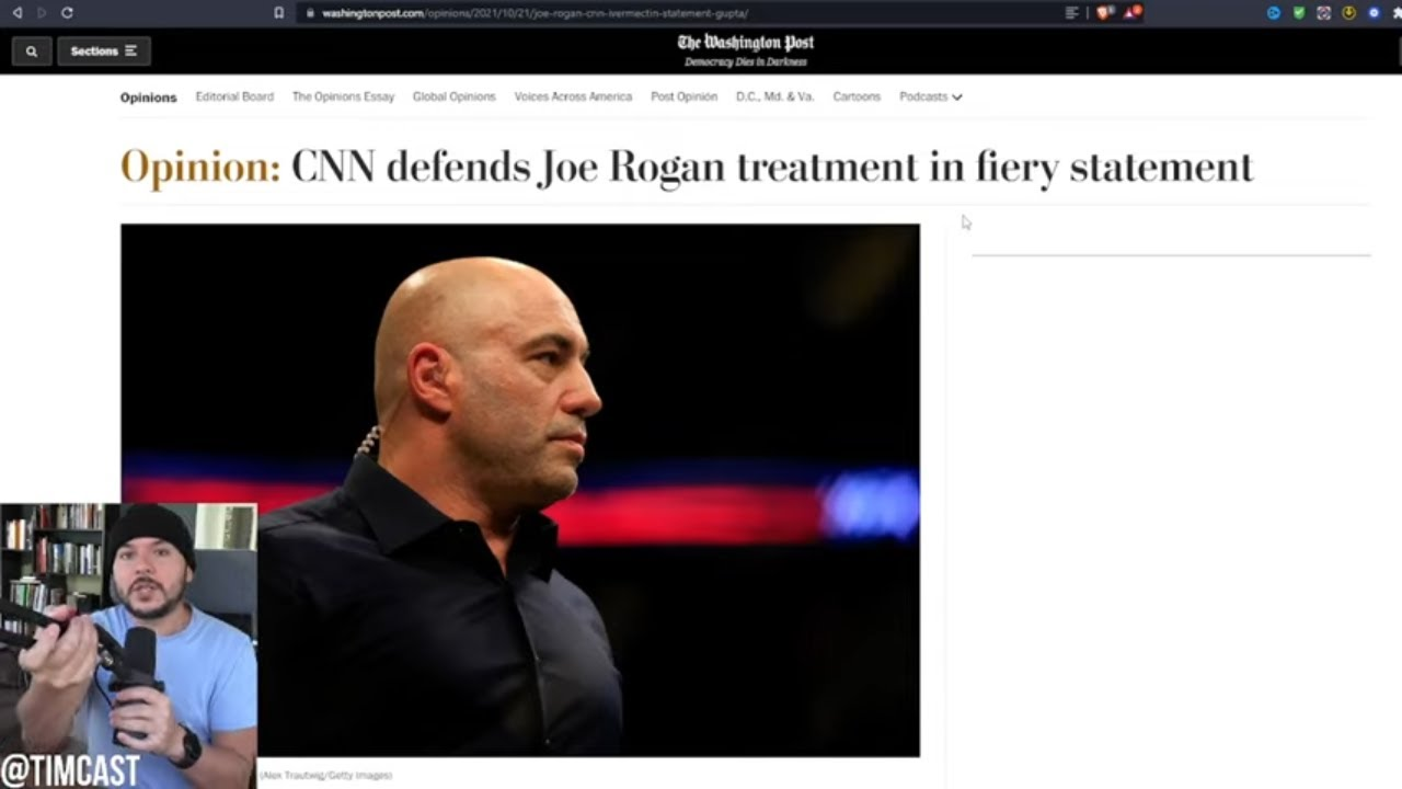 CNN Just TRIPLED DOWN Saying Joe Rogan Ate Horse Paste In Official Statement Released To WaPo